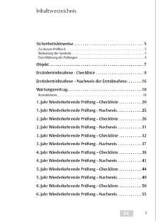 Inhaltsverzeichnis-Pruefbuch