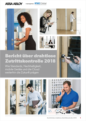 Bericht über drahtlose Zutrittskontrolle 2018