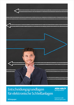 Entscheidungsgrundlagen für elektronische Schließanlagen