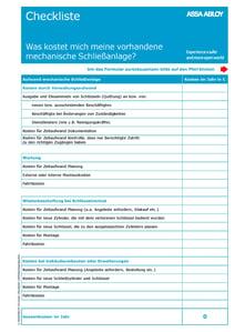 ASSAABLOY_Formular_Checkliste_SAKosten